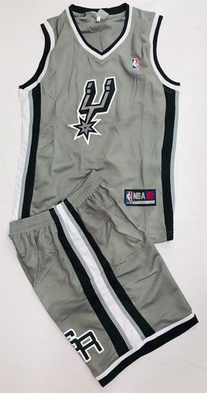 Uniforme Baloncesto San Antonio Spurs Niño