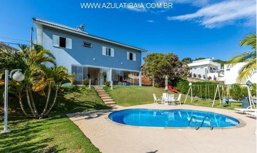 Imagem 1 de 30 de Casa Em Condomínio Atibaia, Serra Da Estrela Portaria, Rondas E Área De Lazer... - Ca01013 - 68533833