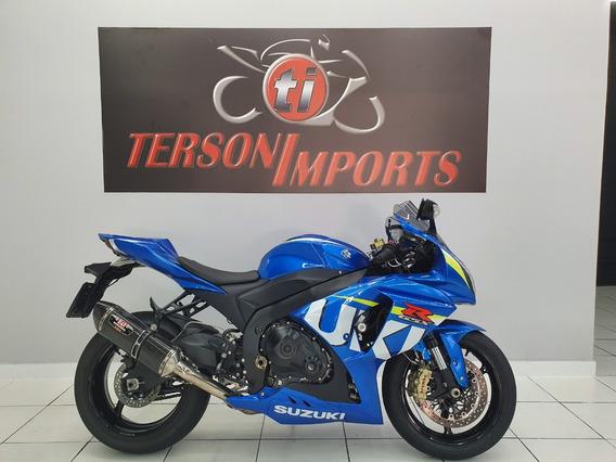 Suzuki Gsx-r1000 Moto Gp 2015 Azul Srad 1000