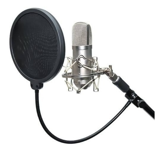 15x Microfone Pop Filter Para / Filtro Estudio Studio