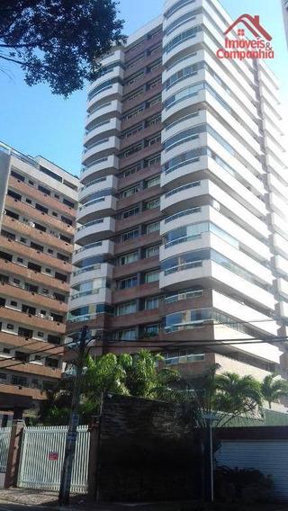 Apartamento Com 4 Suítes À Venda, 191 M² - Meireles - Fortaleza/ce - Ap1600