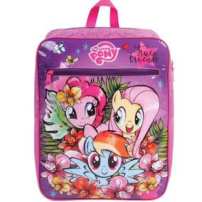 Mochila Escolar Infantil My Little Pony