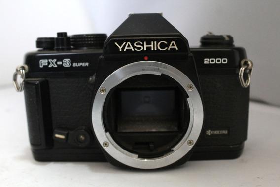 Câmera Fotografica Yashica Fx-3 Super Coleção Retirada Peça