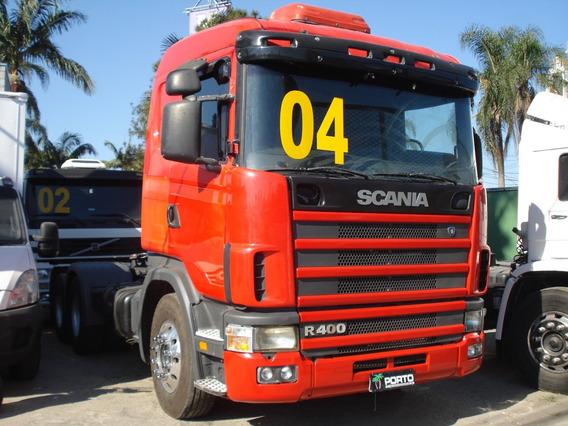 Scania R124 400 6x2 2004 Temos 2003 Tambem Varias Unidades