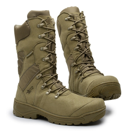 Bota Coturno Militar Airsoft Tática Gust Cano Alto Rafale