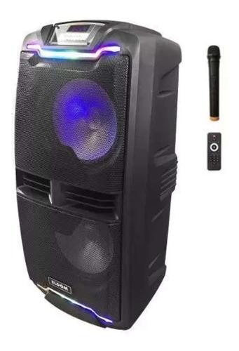 Parlante 2x 10´ Activo Bateria Bluetooth + Micro Inalámbrico