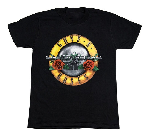 Guns N Roses Remera Premium - Axl Rose - Slash - Envios