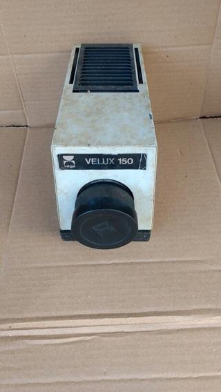 Antigo Projetor De Slides Vega Velux 150 No Estado