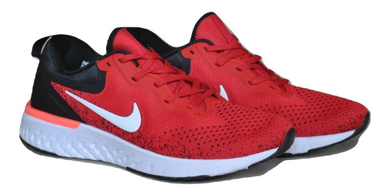 Kp3 Zapatos Caballeros Nike Odyssey React Rojo Negro