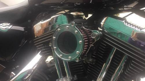 Harley Davidson Filtro De Ar Lavável - Cromado 883 / 1200