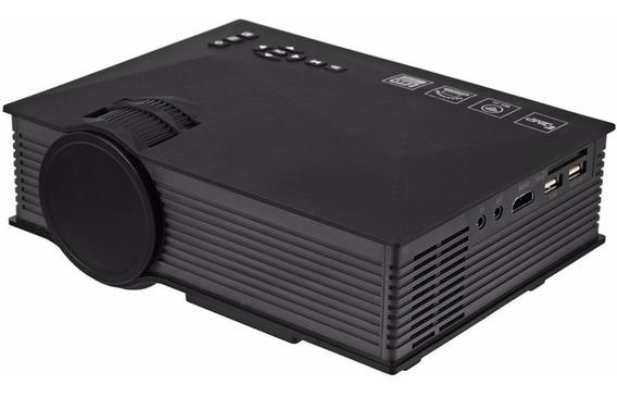 Mini Projetor Portátil Uc46 Hdmi Wi-fi Led Miracast Unic