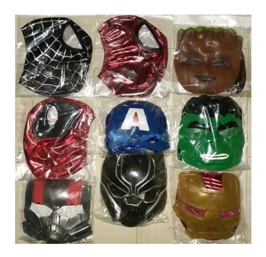Marvel Mascaras De Tus Personajes Favoritos