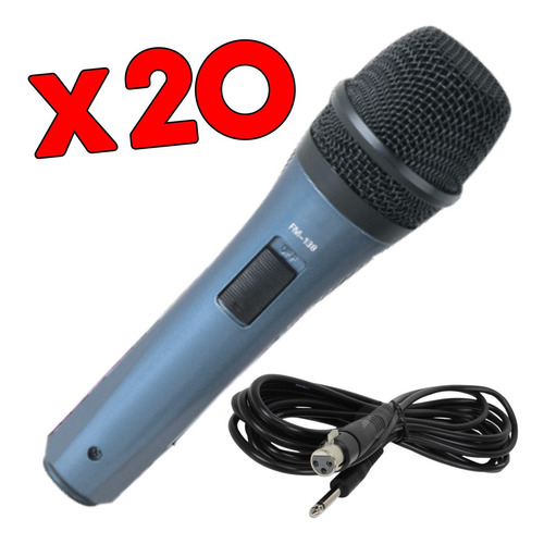 Imagen 1 de 10 de 20 Microfono Cantante Karaoke Ross Fm138 Cuotas