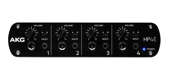 Amplificador De Fone De Ouvido Akg Hp4e - 4 Canais Stereo