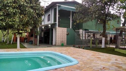 Chácara Com Piscina E 9 Quartos Em Itanhaém/sp 4437-pc