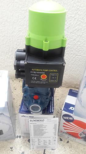Combo Bomba Pedrollo 1/2 Hp Y Press Control Dps 3 110 V.euro