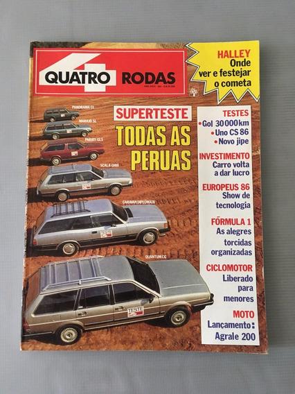 Revista Quatro Rodas - Dezembro 1985 - Nº 305 Panorama