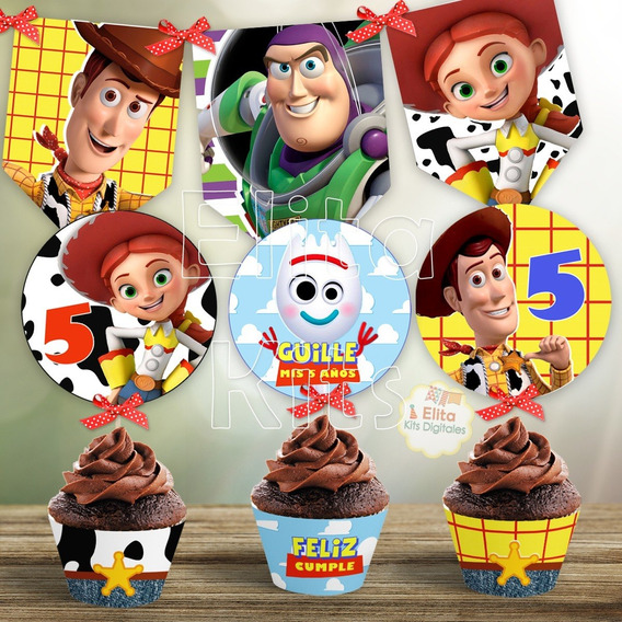 Kit Imprimible Toy Story 4 Decoración Cumpleaños Candy Bar