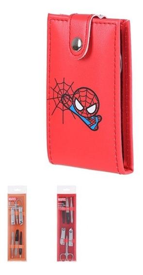 Kit Manicure Estojo Homem Aranha - Marvel Miniso