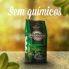 Erva-mate Chimarrão Invernada Tradicional - 8 Pacotes 1kg