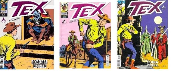 Revista Tex Kit 056 Com 03 Unidades