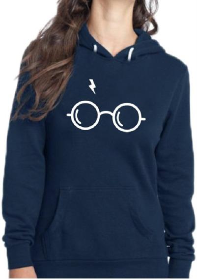 Blusa De Frio Harry Potter Óculos Moletom Agasalho Blusão