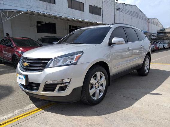 Chevrolet Traverse Ltz 2017 Plata