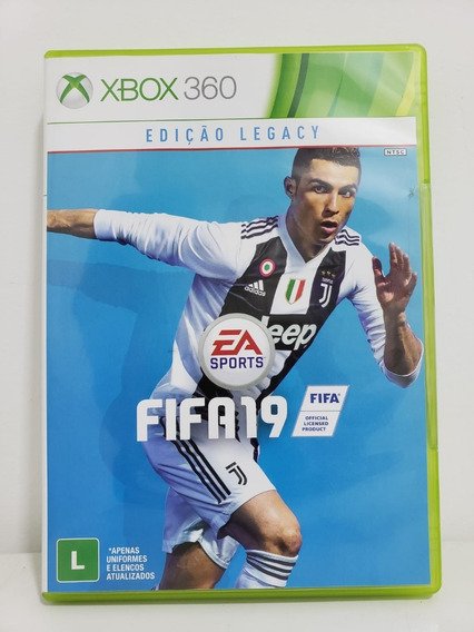 Fifa 19 - Xbox 360 - Seminovo Original