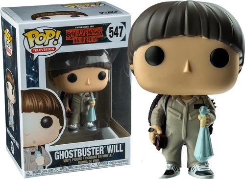 Ghostbuster Will Cazafantasma St - Funko Pop #547 Collectoys