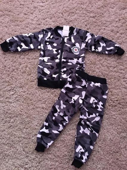Blusa Conjunto De Frio Inverno Para Menino Bebe