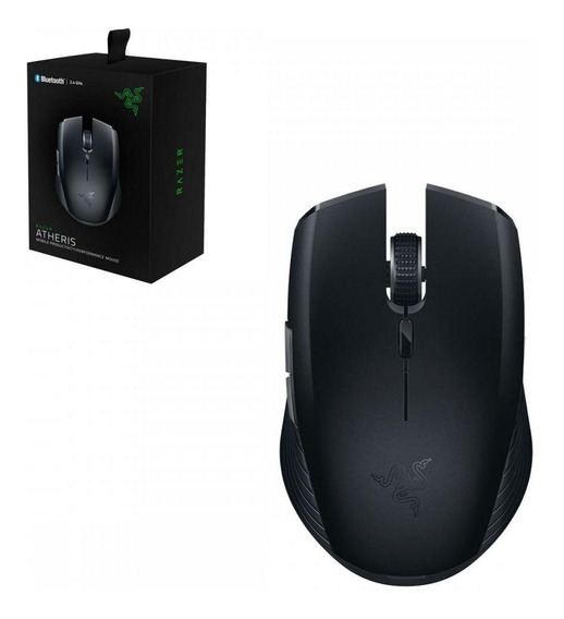 Mouse Sem Fio Bluetooth 2.4ghz Razer Atheris 7.200 Dpi Preto