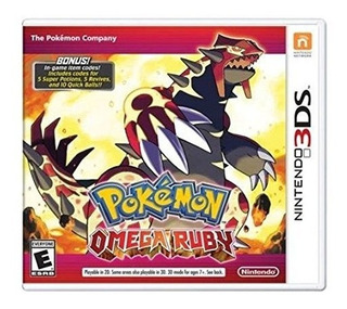 Nintendo Pokemon Omega Ruby 3ds Up Shop