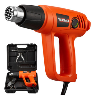 Pistola Calor 1800w Incluye Kit 6 Acces Teeno