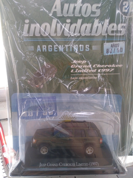 Autos Inolvidables 80/90 Nro 26 Jeep Grand Cherokee 1997