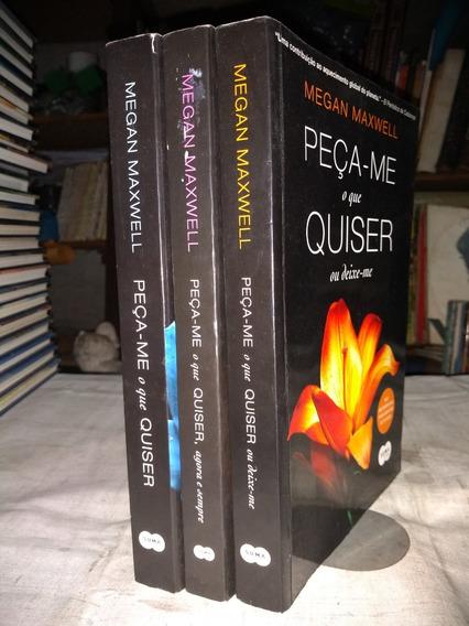 Peça-me O Que Quiser Vols 1, 2 & 3 Megan Maxwell Seminovos