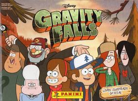 Álbum Oficial Gravity Falls + 20 Envelopes 100 Figurinhas