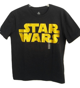 Playera Camiseta Star Wars Hombre Disney Store M Original