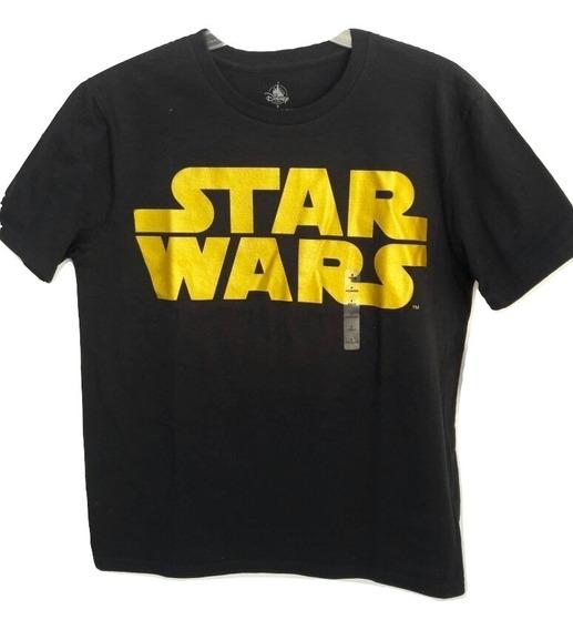 Disney Store Playera Star Wars Hombre Talla Chica Original