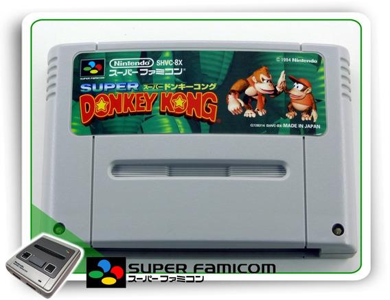 Donkey Kong Country Original Super Famicom Sfc