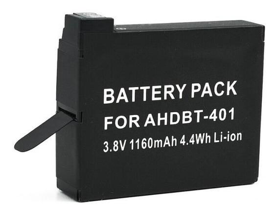 Bateria Para Filmadora Gopro Hero4 4k 3.8v 1160mah Ahdbt-401