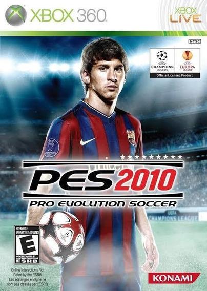 Pes 2010 Xbox 360 Original