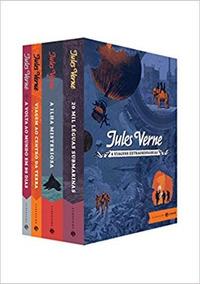 Box Viagens Extraordinárias Jules Verne Editora Zahar Novo