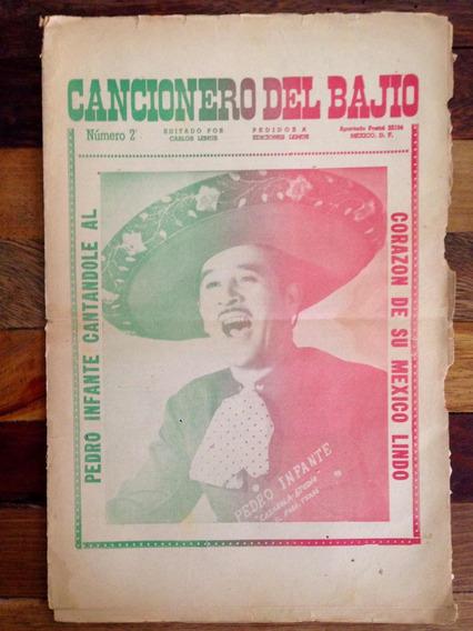 Antiguo Cancionero Pedro Infante En Portada Años Años 50