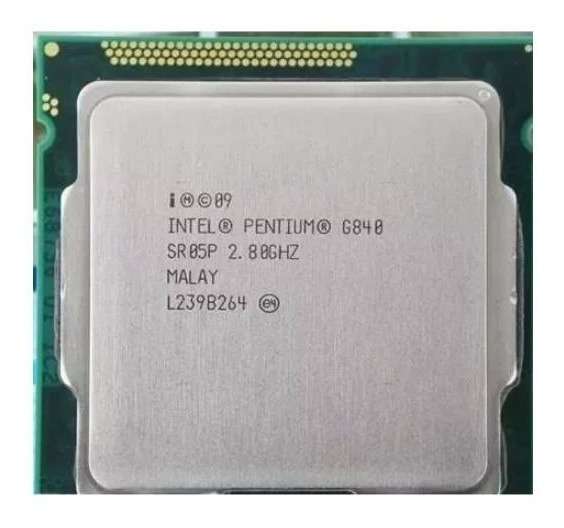 03 Processadores G840 2°geração Socket 1155 Pentium