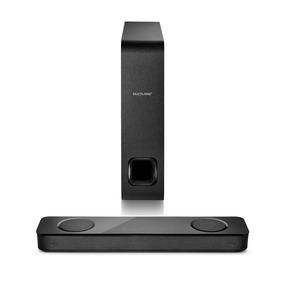 Caixa De Som Soundbar Multilaser 120w Bluetooth Rms