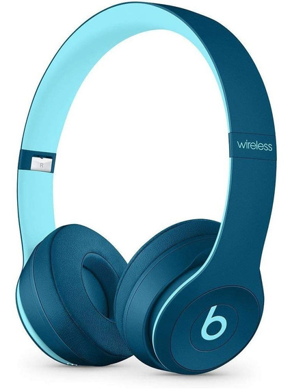 Fone Apple Beats Solo3 Wireless Pop Blue Novo/caixa