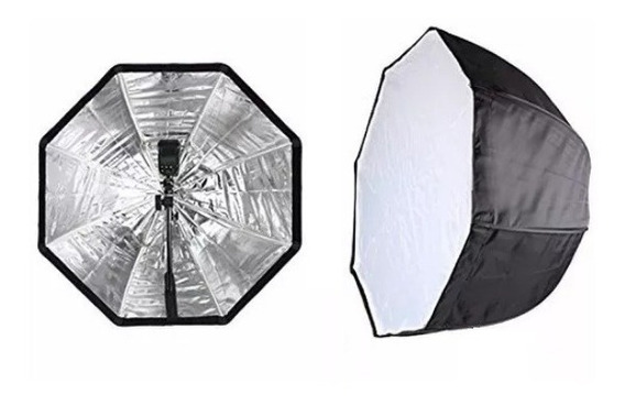 Softbox Octabox 80cm Tipo Sombrinha Para Estúdio E Externo