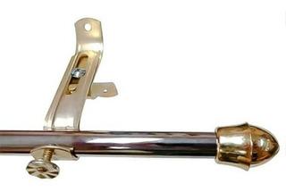 Cortinero Metalico 76cm A 1.22mts Resistente(no Se Vence)