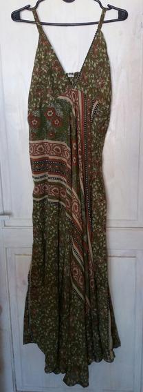 Vestido De Seda Hindú