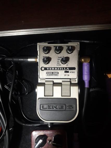 Pedal De Reverb Line 6 Verbzilla Tonecore (ñ Boss, Fender)